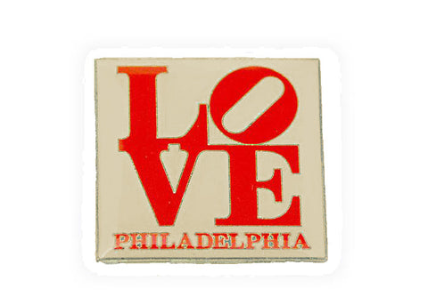 "LOVE Lapel Pin 1"" x 1"""