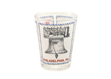 Philadelphia 3-Icon Shot Glass