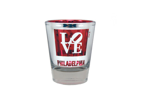 LOVE Metallic Shot Glass