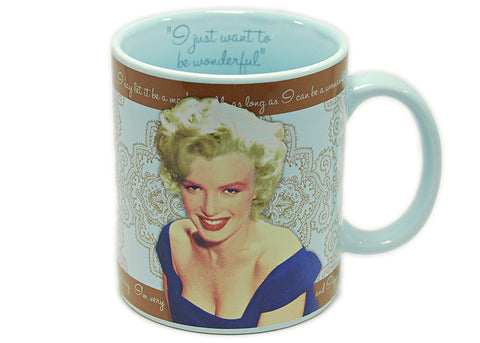 Marilyn Monroe To Be Wonderful 12 oz Mug