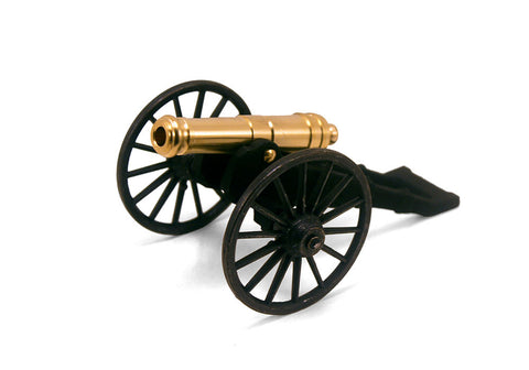 "Revolutionary War French 12 Pounder Field Gun  5-1/4"" Long"
