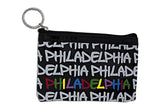 Philadelphia Graffiti PVC Coin Purse (5 colors)