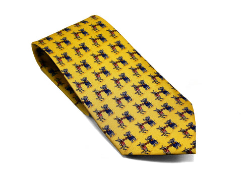 Republic vs Democrat Mascot Necktie
