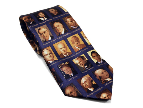 Presidents of the United States Necktie