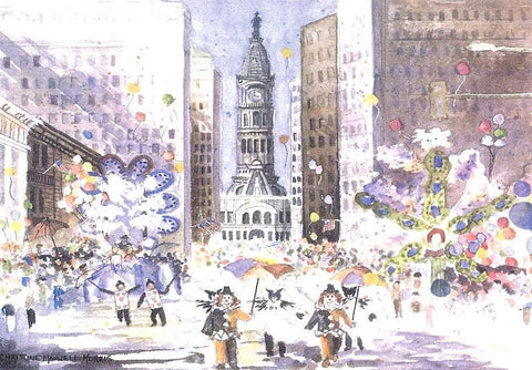 Mummer's Celebration at City Hall Boxed Christmas Cards