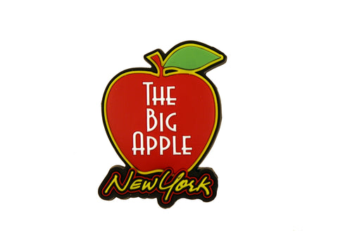 New York Big Apple Rubber Magnet