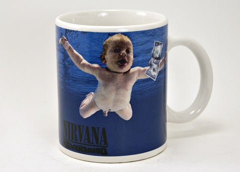 Nirvana Nevermind 12 oz Mug