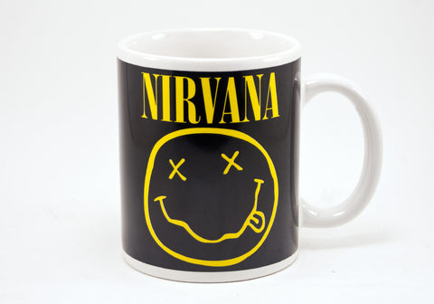 Nirvana Smiley Face 12 oz Mug