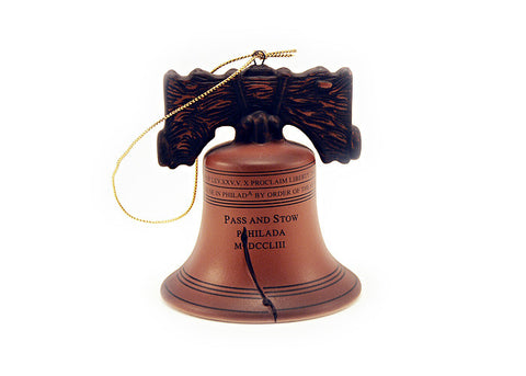 Liberty Bell Porcelain Ornament