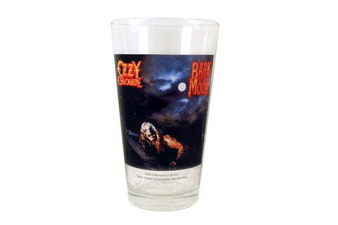 Ozzy Osbourne Bark at the Moon Pint Glass