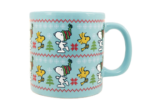 Peanuts Ugly Sweater 20 oz Mug