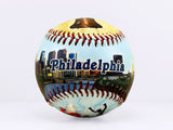 Philadelphia City Montage Baseball