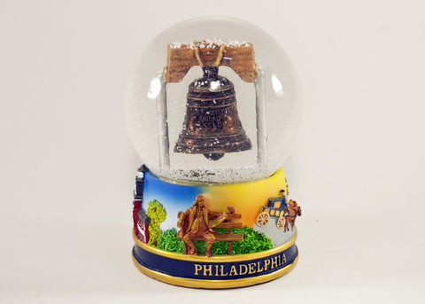 Liberty Bell & Historical sites 100mm Snow globe