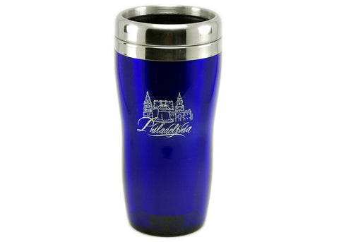 Philadelphia Stainless Steel Travel Mug