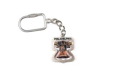 Liberty Bell 3D Spinner Keychain
