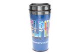 Philadelphia Pennsylvania Typography Travel Mug