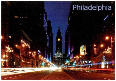 Philadelphia the Avenue of Arts Postcard
