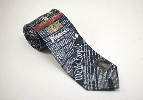 We the People Navy Philadelphia Necktie