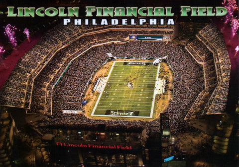 Philadelphia Lincoln Financial Field Postcard (A)
