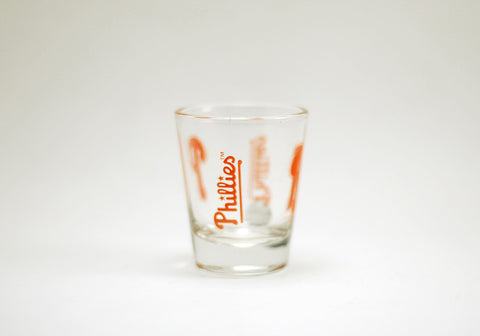 Philadelphia Phillies Logo Shot Glass