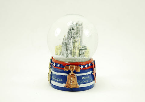 Philadelphia Buildings Snow Globe