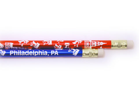 Liberty Bell & Independence Hall Pencil