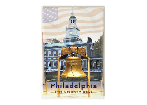 Philadelphia Liberty Bell Rectangular Magnet