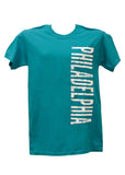 Philadelphia Vertical Design Adult T-Shirt
