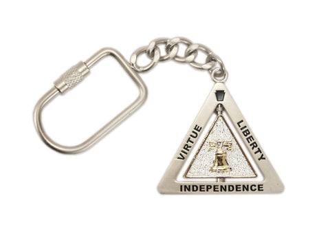 Liberty Bell & We the People Spinner Keychain