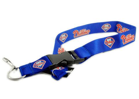 Philadelphia Phillies Blue Lanyard