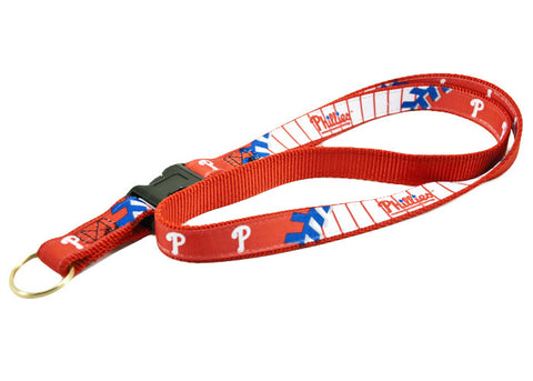 Philadelphia Phillies Key Ring Lanyard