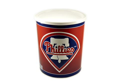 Philadelphia Phillies Tin Box (1 Gal)