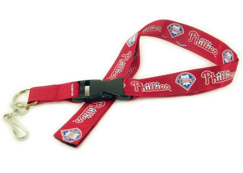 Philadelphia Phillies Red Lanyard