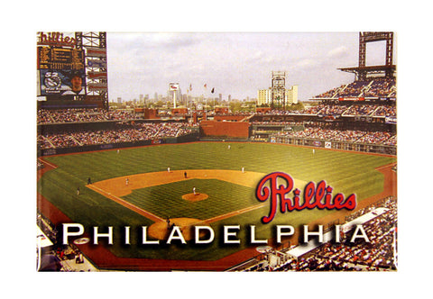 Phillies Stadium Photo Magnet