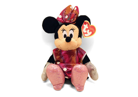 Minnie Mouse Pink Ty Plush Small