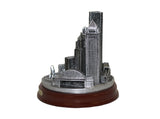 Pittsburgh City Skyline Silver 3D Figurine