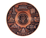 Washington D.C. Copper-finished Plate