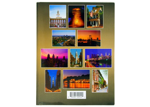 Philadelphia 12 Postcards Collection