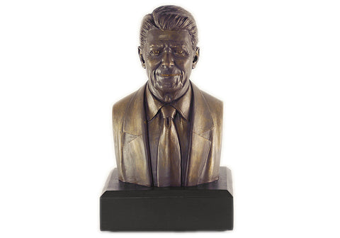 "Ronald Reagan 6""  Polystone Bronze-Finished Bust"