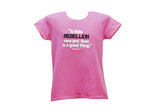 "Thomas Jefferson ""A Little Rebellion is a Good Thing"" Lady Tees (4 Colors)"