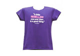 A Little Rebellion is a Good Thing Ladies Fit T-Shirt (4 Colors)