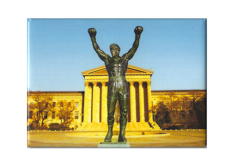 Philadelphia Rocky at The Art Museum Magnet