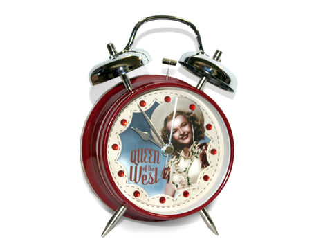 Roy Rogers and Dale Evans Queen of the West Twin Bell Alarm Clock