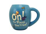 "Dr. Seuss ""Oh the Places You'll Go"" 18 oz Oval Mug"