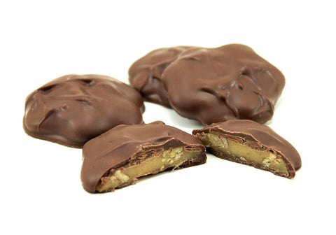 Asher's Sugar Free Pecan Caramel Pattie Milk Chocolate
