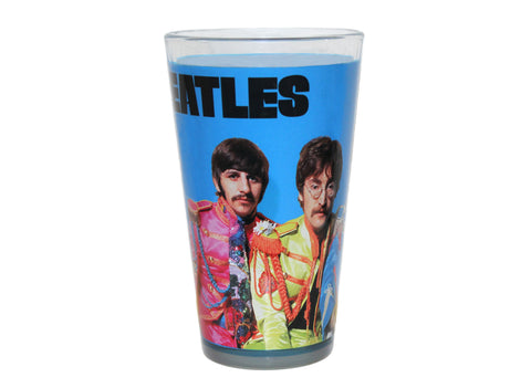 The Beatles Sgt. Pepper 16 oz Pint Glass