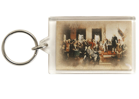 Signing Of The Constitution Keychain