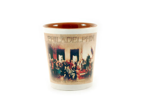 Signing of the Constitution Shot Glass