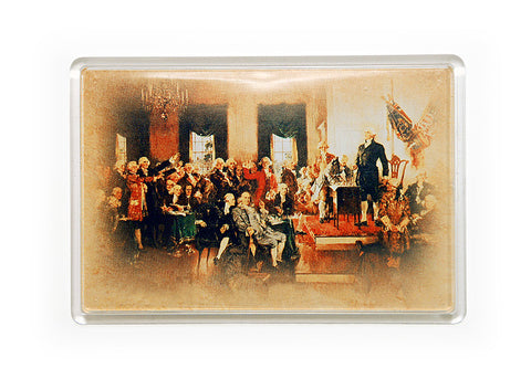 Signing of the Constitution Lucite Magnet