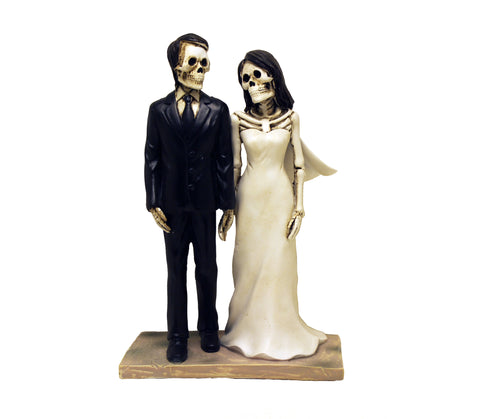 Bride and Groom Wedding Day Love Never Dies Figurine